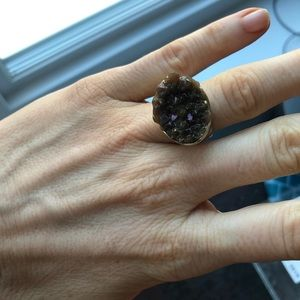 Jewelry - Large crystal druzy ring